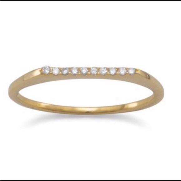 Elegant Stackable Ring